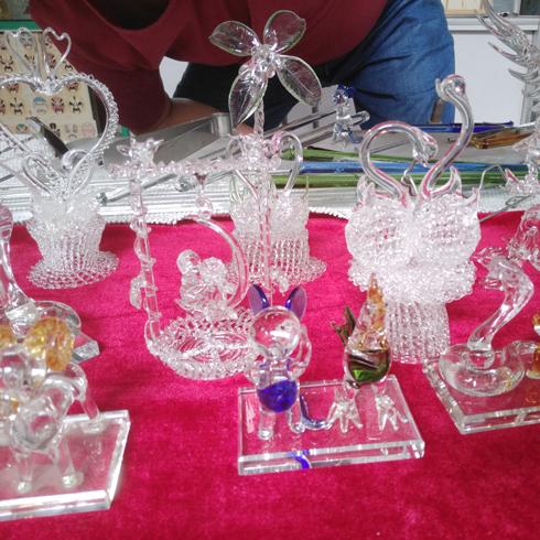 各类水晶工艺品