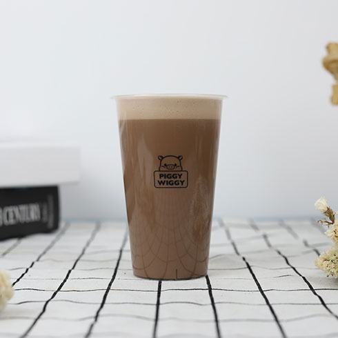 贪吃猪奶茶-巧克力奶茶