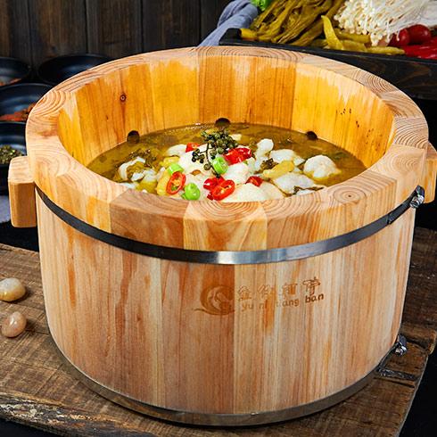 鱼你相伴喷泉鱼火锅-酸菜鱼喷泉火锅