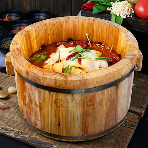 鱼你相伴喷泉鱼火锅-香辣鱼喷泉火锅