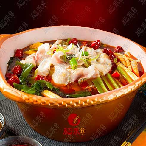 稻禾香品5秒吃鱼-香辣鱼锅