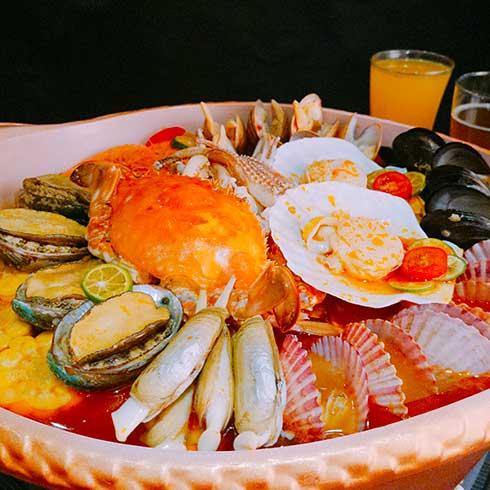 稻禾香品5秒吃鱼-海鲜锅