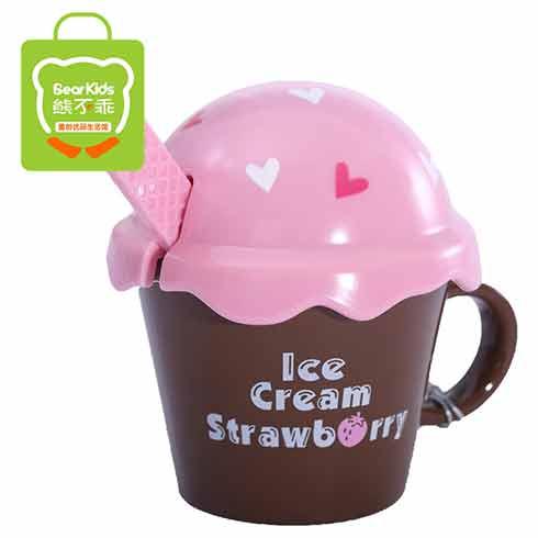 熊不乖童创优品-浮雕冰淇淋水杯
