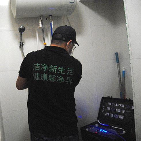 馨净界家政服务-热水器清洗机