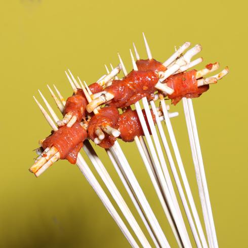 无签道牛肉串串香-折耳根牛肉