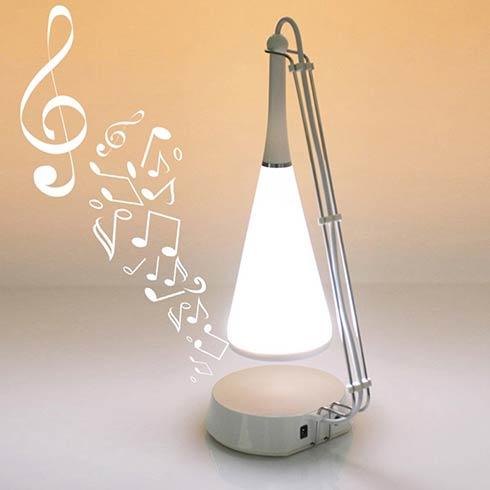 稀奇古怪魔术道具-音乐台灯