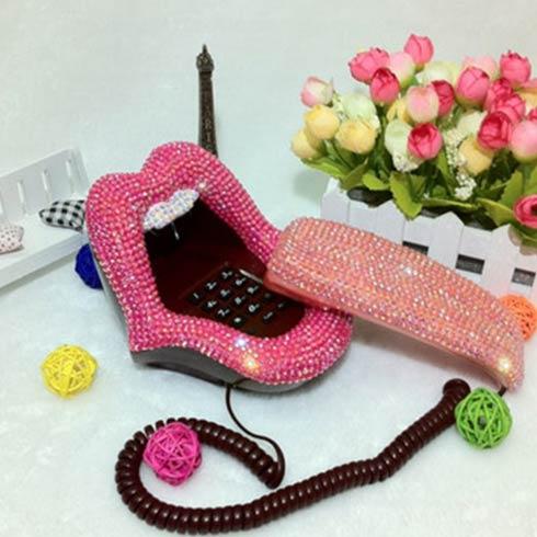 稀奇古怪魔术道具-个性嘴唇电话机