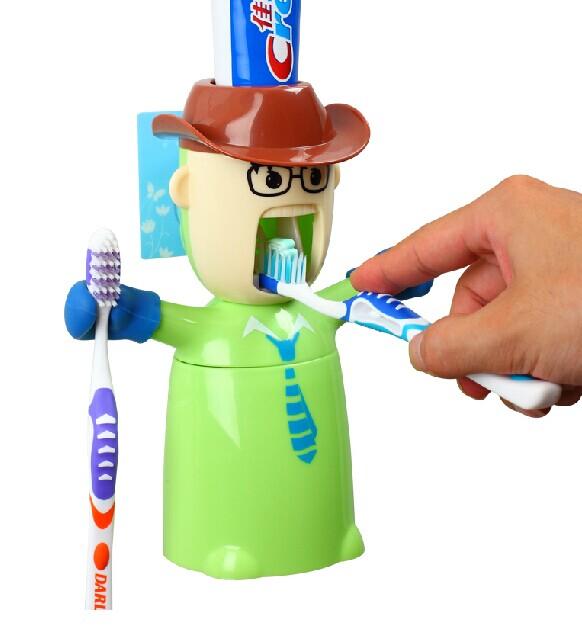 稀奇古怪魔术道具-个性创意牙刷架