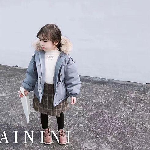 艾尼尼童装-加厚保暖外套