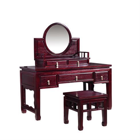 榮燊堂红木家具-红木梳妆台