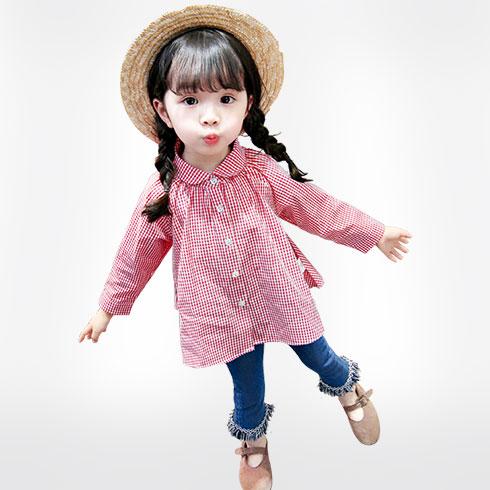 悄悄皮童装-俏丽粉红裙
