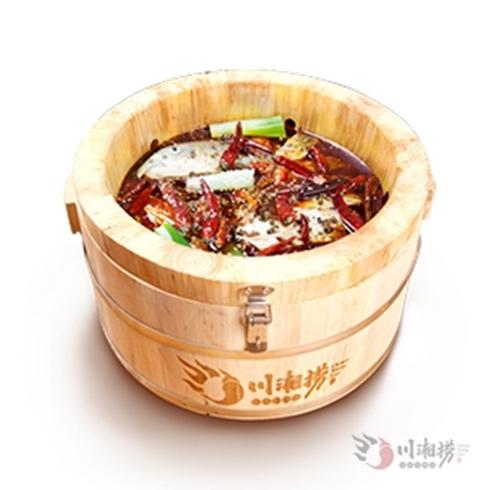 川湘捞喷泉火锅-麻辣鱼锅