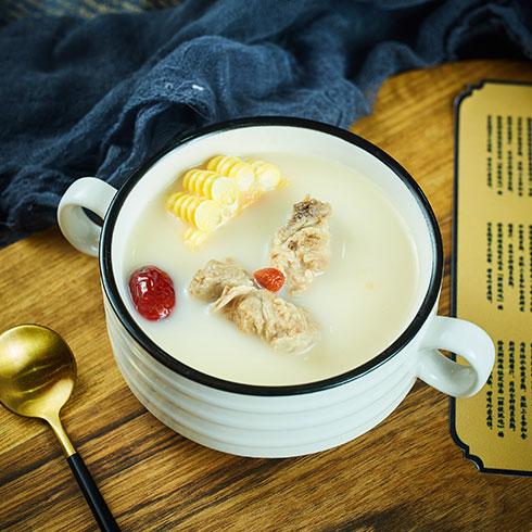 拾煲街烩烧饭-养生莲子粥
