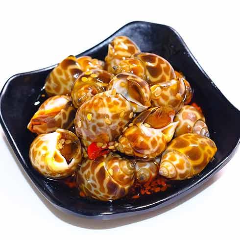 蟹逊捞汁小海鲜-海螺
