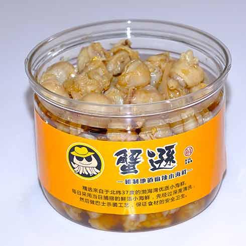 蟹逊捞汁小海鲜-墨鱼仔
