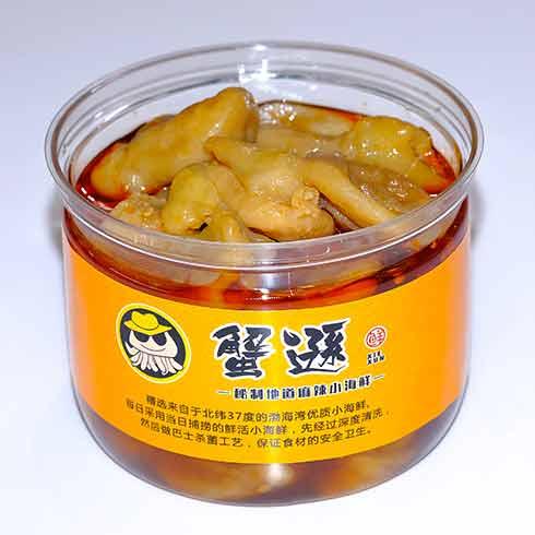 蟹逊捞汁小海鲜-鸟贝