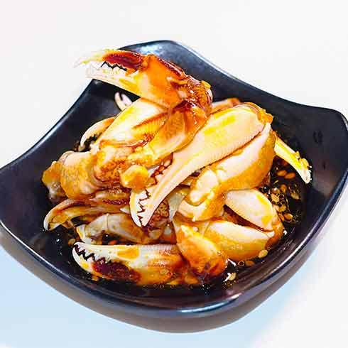 蟹逊捞汁小海鲜-蟹腿