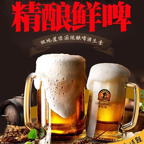圣伯纯精酿鲜啤-精酿啤酒