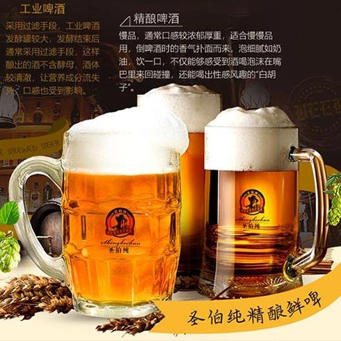圣伯纯精酿鲜啤-精酿鲜啤酒