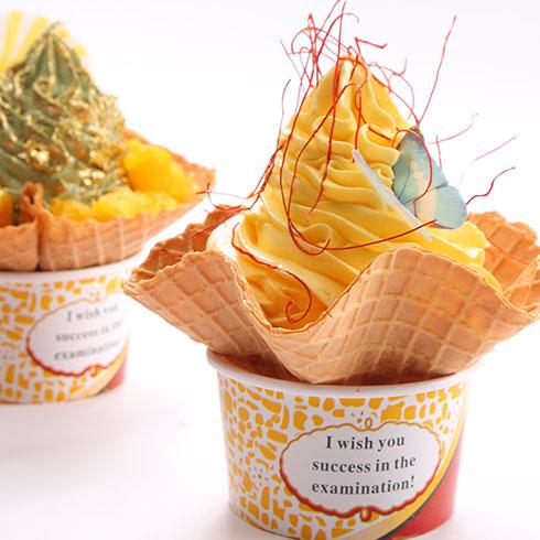卡缇诺冰淇淋-可爱蛋卷冰淇淋