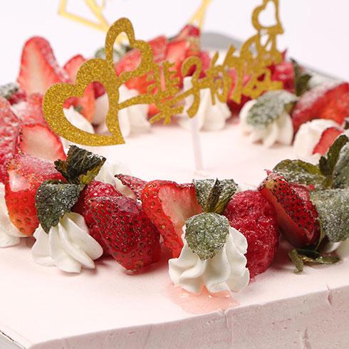 诺尔哈根-草莓鲜奶蛋糕