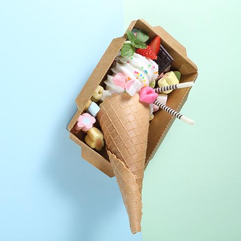 蜜菓冰点冰淇淋-火炬冰淇淋