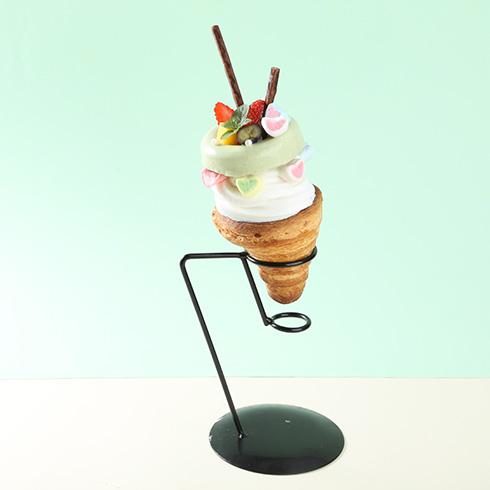 蜜菓冰点冰淇淋-牛角包冰淇淋