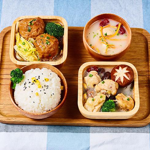 饿魔小食堂快餐-狮子头套餐