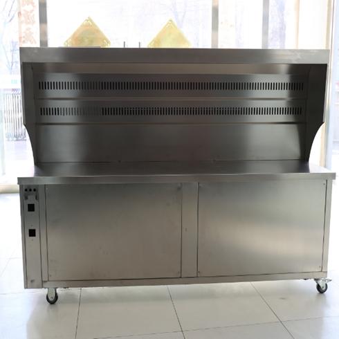 新风-新型环保烧烤车