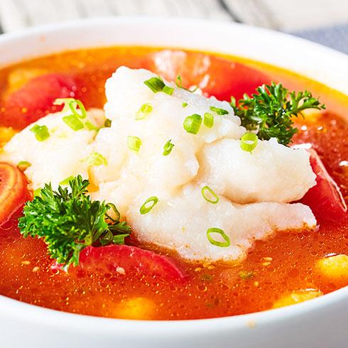喵想吃酸菜鱼快餐-酸汤番茄鱼