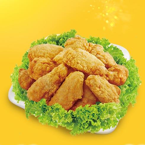 虾座小龙虾三明治-炸鸡块