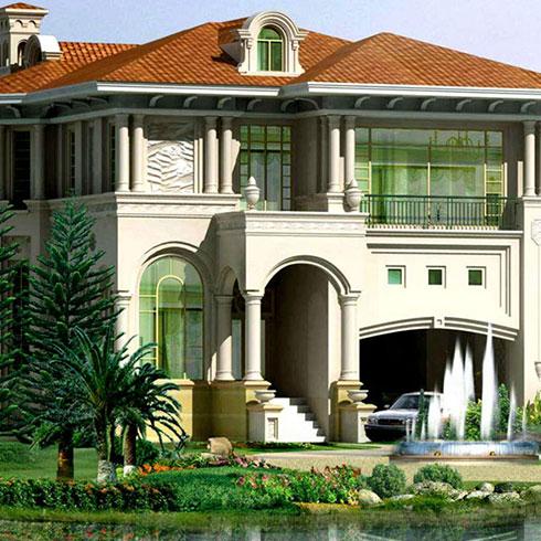 菲帝诺轻钢别墅-轻钢别墅设计