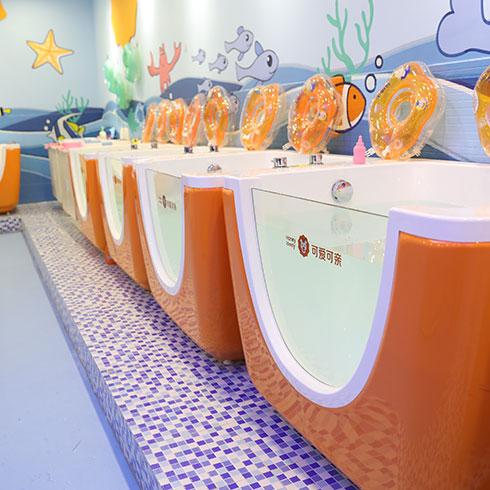 可爱可亲-婴儿澡堂