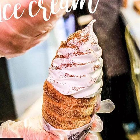 哈露客滋冰淇淋-巧克力粉冰淇淋
