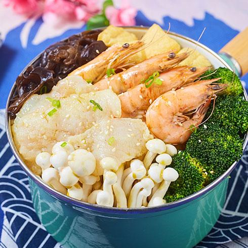 舟栈-虾仁焖锅饭