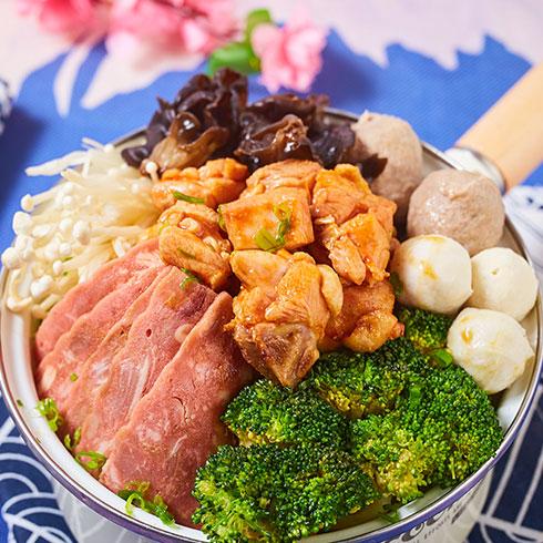 舟栈焖锅饭-DIY煲仔饭