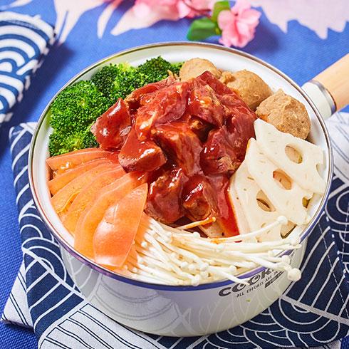 舟栈焖锅饭-牛肉煲仔饭