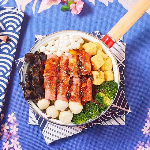 舟栈焖锅饭-火腿煲仔饭