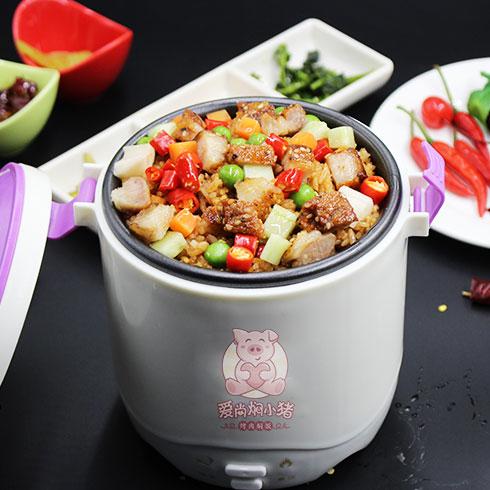爱尚焖小猪烤肉焖饭-麻辣焖肉饭