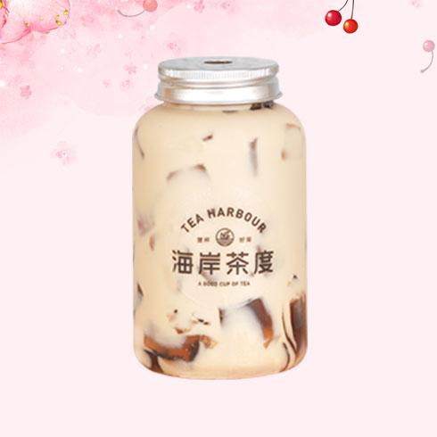 海岸茶度-龟苓膏奶茶