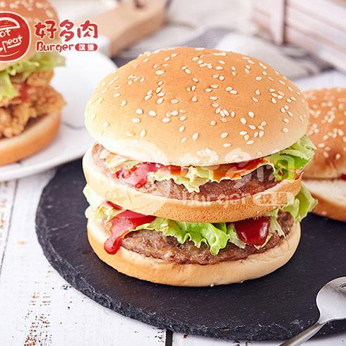 好多肉汉堡-双层牛肉堡