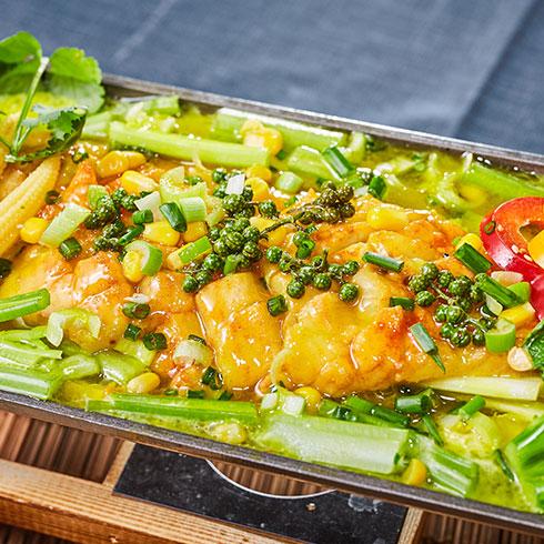 渔巴客烤鱼饭-藤椒烤鱼