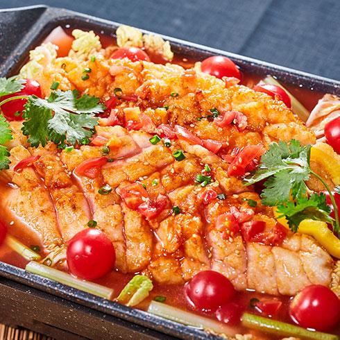 渔巴客烤鱼饭-酸酸烤鱼