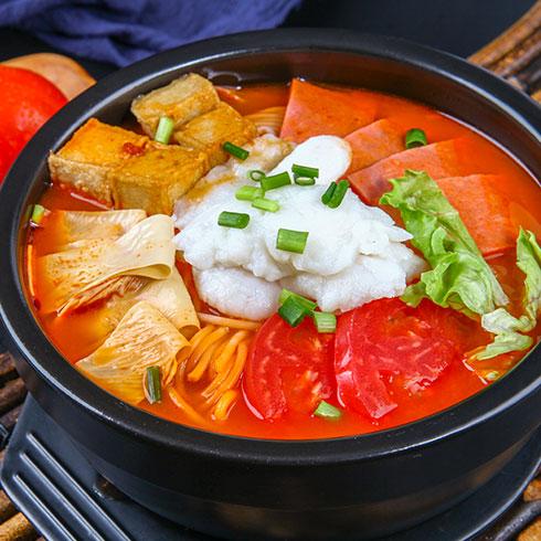 张一碗过桥米线-番茄砂锅米线
