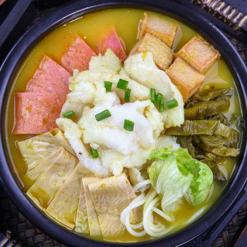 张一碗过桥米线-酸菜口味米线