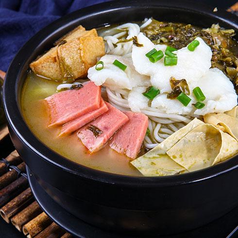 张一碗过桥米线-酸菜米线