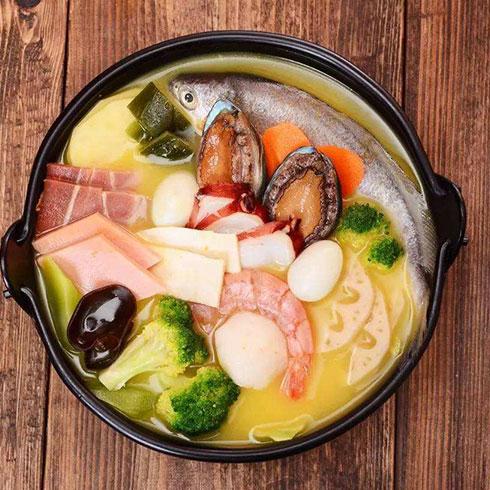 冒三元-海鲜汇清汤冒菜
