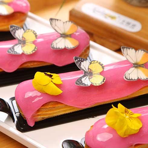卡缇诺甜品-蝴蝶多彩甜品