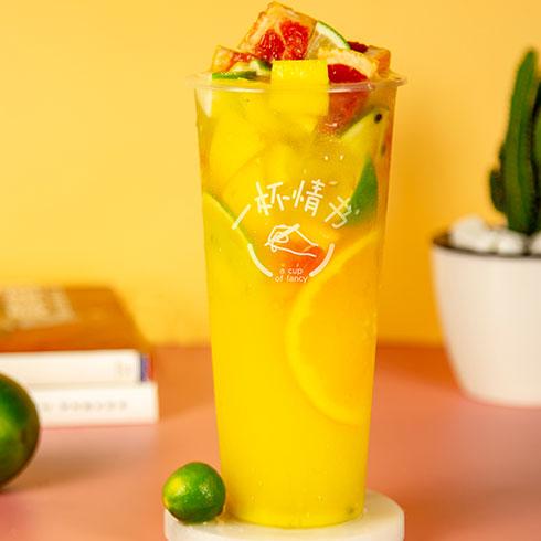 一杯情书饮品-水果茶