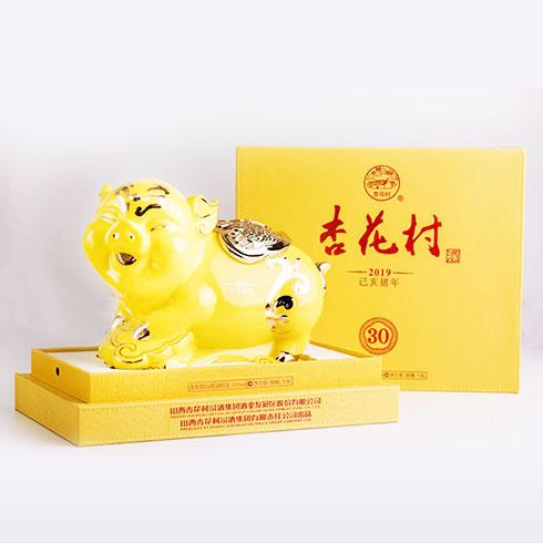 汾酒杏花村白酒-金猪酒